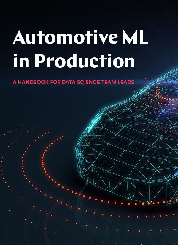 Automotive Machine Learning in Production eBook cover