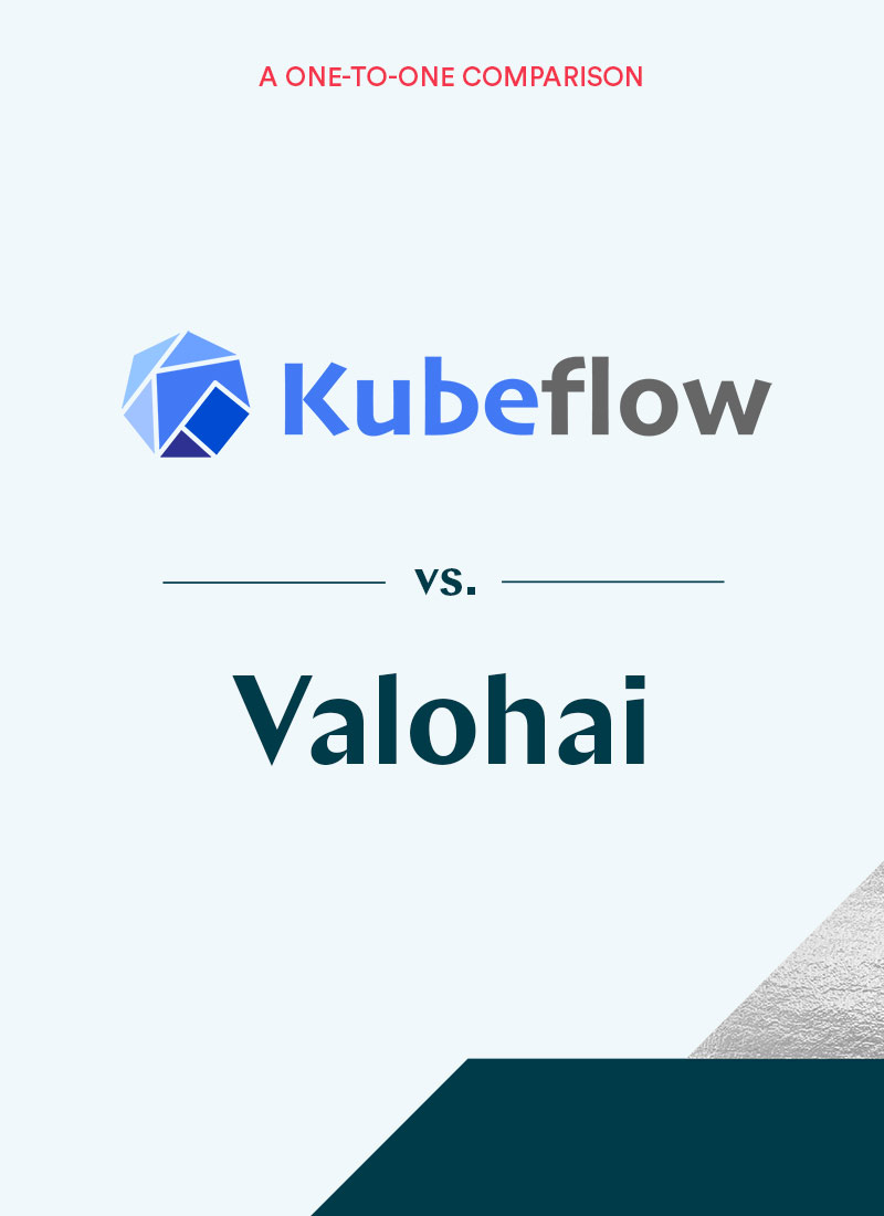 Kubeflow and Valohai comparison eBook cover